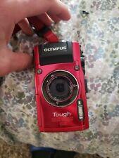 Olympus Tough TG-4 16.0MP Digital Camera - Red