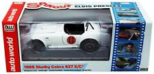 AUTOWORLD AWSS104 1965 SHELBY COBRA 427 S/C #11 1/18 SPINOUT MOVIE ELVIS PRESLEY