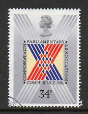 GB 1986 32nd Commonwealth Parliamentary Asssociation conference fine used stamp