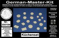 Diorama Zubehör Resin Kit Küchenset-Lebensmittel Varianten 1, Resin, 1:35, Dio