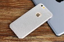 Luxury Silicone Glitter Shock Proof Phone Case Cover For iPhone 6  6s   Silver