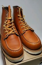 """NEW RED WING X JCREW MENS HERITAGE 4521 BOOTS USA 12 D 6"""" Moc Toe EUR 46"""