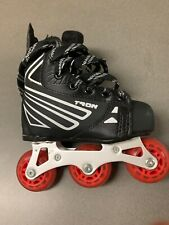 NEW! Tron S20 Inline Roller Hockey Skates - Size Youth 11 Same as Bauer/Mission