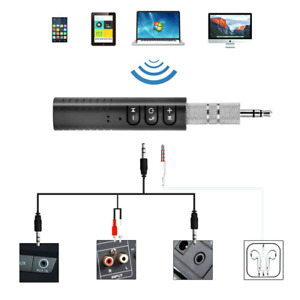AUX 3.5mm Jack Car Audio Bluetooth Receiver Handsfree Call Adapter. 0181