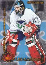 1997-98 Donruss Canadian Ice Hockey Les Gardiens #4 Jean-Sebastian Giguere /1500