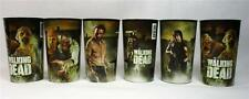 Lot of 6 AMC The Walking Dead Cups Tumblers Rick Daryl Michonne Zombies Hallmark