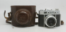 DeJUR D3 35mm camera with case c 1957 Germany