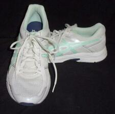 New listing Asics Running Shoes Women's Size 8.5 Gel Contend 4 Mint Green & White  T765N EUC