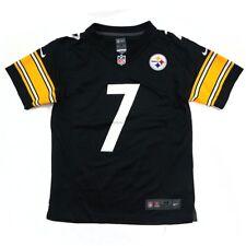 Ben Roethlisberger Pittsburgh Steelers NFL Nike Youth Black  Game Jersey