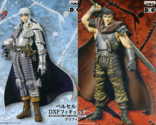 RARE Berserk DXF Figure Guts & Griffith set BANPRESTO 16cm from Japan