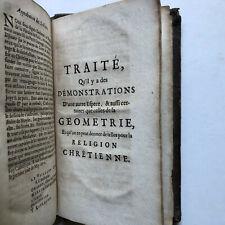 Pensées sur la religion - Pascal,M. -  Verlag: Chez Abraham Wolfgang 1679
