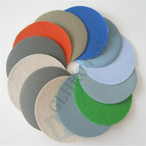 "5""125mm Polishing Wet Sandpaper Sanding Disc Hook And Loop 800#-10000#"