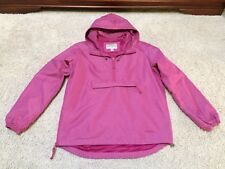 Cabela's Pullover Windbreaker Jacket Hooded Coat Womens Sz Small