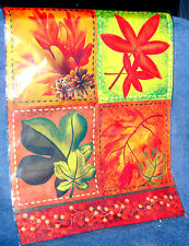 Fall Leaves one Sided Mini Garden Flag 12 x 18 Inches B165* Thanksgiving