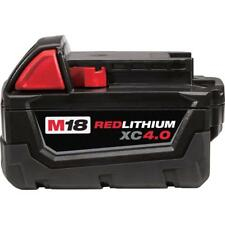 Milwaukee M18 18V Lithium Ion 4.0ah XC Battery Model 48-11-1840 NEW GENUINE