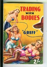 TRADING WITH BODIES by Griff, British Modern Fiction crime gga pulp vintage pb