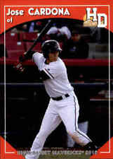 2016 High Desert Mavericks Grandstand #2 Jose Cardona Mexico MX Baseball Card