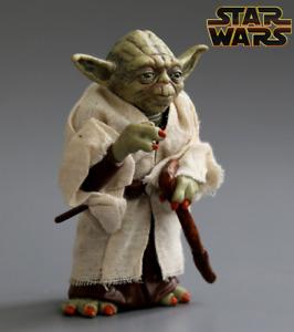 Star Wars Figura Muñeco de Acción Yoda Maestro Jedi 13 cm Regalo Coleccionista