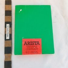 New listing New Old Stock Arista 100 sheets 5x7 B&W Photographic paper Pearl Sealed