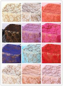 Chantilly Dancing Dress Lace Fabric Blossom Bridal Evening Costume DIY Tulle 1 M