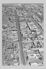 nsw BROKEN HILL Argent St 3rd aerial view 1930-50 modern digital Photo Postcard