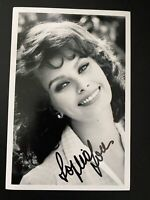 Sophia Loren Movie Actress autographed photo