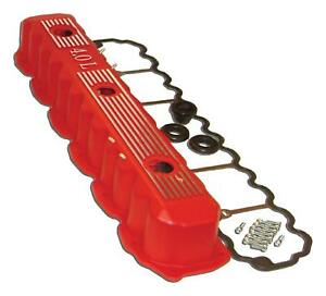 Jeep 4.0L Inline 6 Motor Valve Cover Kit in RED - Fits XJ TJ WJ ZJ and YJ