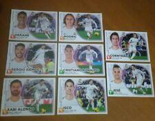 Lote de 8 cromos del Real Madrid. Liga 2014-15. Colecciones Este Panini
