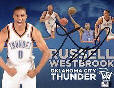 Russell Westbrook Signed 8x10 Thunder Photo - Global Authentics