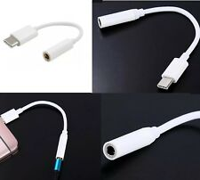 USB Type C to Aux 3.5mm Adaptor Headphone Jack for Samsung Apple OnePlus Google