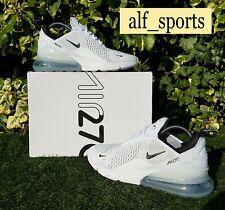 ❤ BNWB & Genuine Nike ® Air Max 270 Trainers in White & Black UK Size 8 EU 42.5