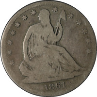 1861-S Seated Half Dollar Great Deals From The Executive Coin Company - BBHE5353