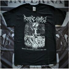 Rotting Christ - 25 Years Denying The False God T-SHIRT M Varathron Necromantia