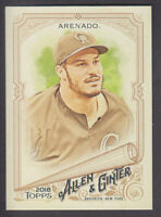Topps - Allen & Ginter 2018 - Base # 173 Nolan Arenado - Colorado Rockies
