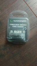 Gardner corkscrew swivels kwikchange 5 size 8