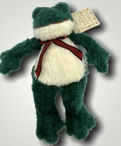 "Russ The Heartcraft Collection 10"" Plush Fribbit Frog Stuffed Animal"