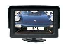 """4.3"""" pollici TFT DA AUTO LCD SCREEN MONITOR PER TELECAMERA RETROMARCIA DISPLAY SCHERMO"""