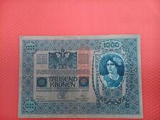 Billete de 1000 kronen austria de 1902