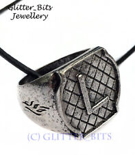 MORTAL INSTRUMENTS LARGE LIGHTWOOD FAMILY RING NECKLACE SHADOWHUNTER JACE ALEC