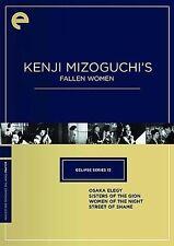 Eclipse Series 13: Kenji Mizoguchi's Fallen Women New Criterion DVD