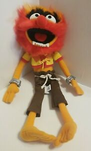 """Disney Store Exclusive The Muppets Drummer Animal 17"""" Plush"""