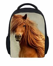 Girls Boys Cool Horse Small School Book Bags Preschool Backpacks for Kids Baby