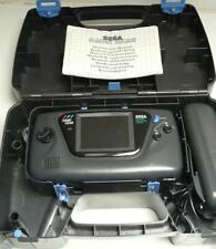 Vintage Sega Game Gear Black Handheld Games Console with Case - FAULTY