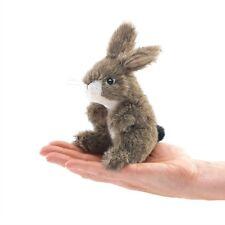 Jack Rabbit Finger Puppet, Folkmanis MPN 2675, 3 & Up, Boys & Girls