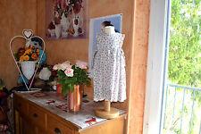 ROBE  CYRILLUS 12 mois liberty jardin anglais haut doublee nouettes