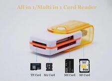 Multi clé USB 2.0 lecteur de carte mémoire  SD,MS,TF ET M2 CARTE MÉMOIRE