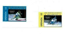 Grenada - 2002 - Winter Olympics - Set Of 2 Stamps - MNH