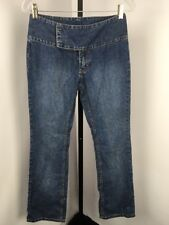 Vintage Womens Tommy Hilfiger Jeans Size 5 Low rise fold over flap Stretch 90s