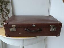 U7759 Alter Reisekoffer um 1940 ~ sehr dekorativ ~ Vintage ~ Koffer