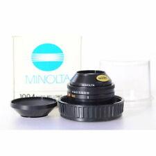 Minolta Auto-Makrokopf 4,0/100 - Auto Macro Lens 100mm F/4 MD Mount